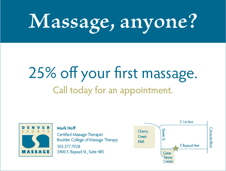 Denver Sports Massage Coupon
