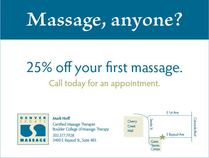 Denver Sports Massage Coupon