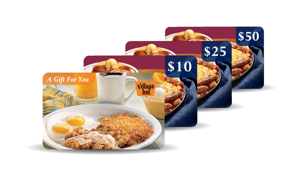 Village Inn Gift Cards